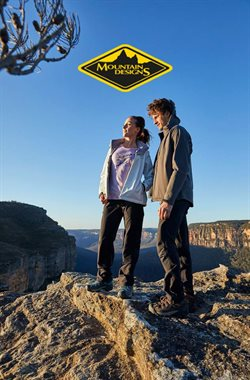 Offers from Mountain Designs in the Sydney NSW catalogue