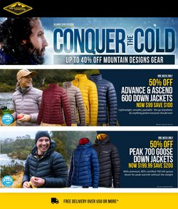 Mountain Designs specials in the Mountain Designs catalogue ( Expired)