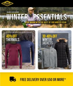 Mountain Designs specials in the Mountain Designs catalogue ( More than one month)