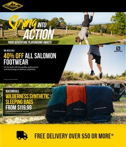 Sport specials in the Mountain Designs catalogue ( Published today)