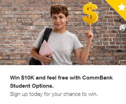 Banks offers in the Commonwealth Bank catalogue in Sydney NSW