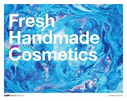 Offers from Lush Cosmetics in the Melbourne VIC catalogue