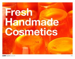 Offers from Lush Cosmetics in the Sydney NSW catalogue