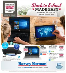 Department Stores offers in the Harvey Norman catalogue in Brisbane QLD