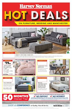 Offers from Harvey Norman in the Sandstone Point QLD catalogue