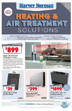 Department Stores offers in the Harvey Norman catalogue in Bairnsdale VIC