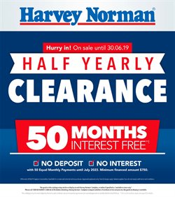 Offers from Harvey Norman in the Sydney NSW catalogue