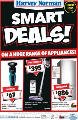 Offers from Harvey Norman in the Adelaide SA catalogue