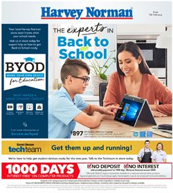 Harvey Norman catalogue ( 11 days left)