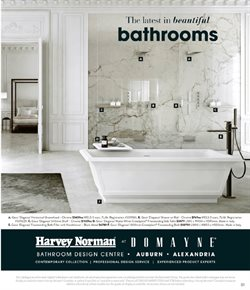 Department Stores offers in the Harvey Norman catalogue in Sydney NSW ( 4 days left )