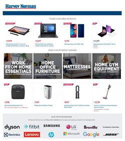 Harvey Norman catalogue ( 1 day ago )