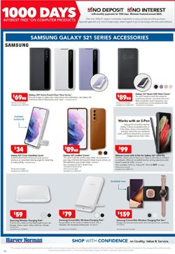Offers of Sales in Harvey Norman