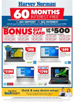 Harvey Norman catalogue ( Expires today )