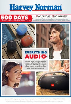 Harvey Norman catalogue ( 2 days ago )