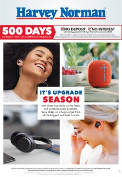 Harvey Norman specials in the Harvey Norman catalogue ( 14 days left)