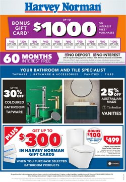 Harvey Norman specials in the Harvey Norman catalogue ( 21 days left)