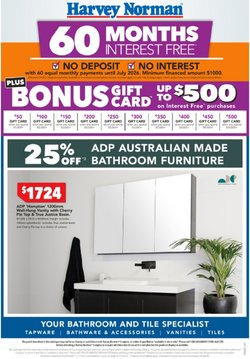 Department Stores specials in the Harvey Norman catalogue ( 2 days left)