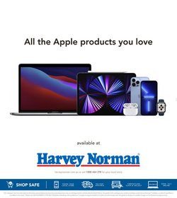 Department Stores specials in the Harvey Norman catalogue ( 8 days left)