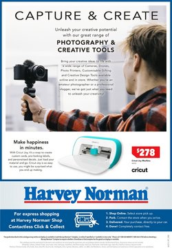 Department Stores specials in the Harvey Norman catalogue ( 6 days left)