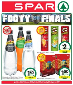 Offers from Spar in the Brisbane QLD catalogue