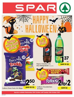 Supermarkets specials in the Spar catalogue ( 1 day ago)