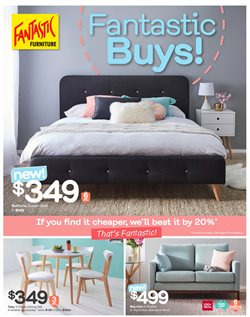Offers from Fantastic Furniture in the Canberra ACT catalogue
