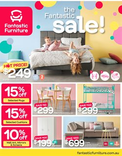 Offers from Fantastic Furniture in the Sydney NSW catalogue