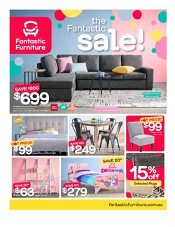 Homeware & Furniture offers in the Fantastic Furniture catalogue in Adelaide SA