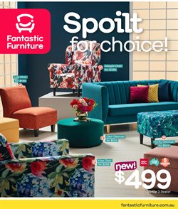 Offers from Fantastic Furniture in the Melbourne VIC catalogue