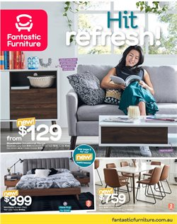 Offers from Fantastic Furniture in the Brisbane QLD catalogue