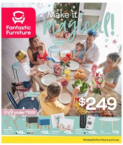 Homeware & Furniture offers in the Fantastic Furniture catalogue in Sydney NSW