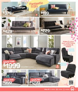 Homeware & Furniture offers in the Fantastic Furniture catalogue ( 5 days left )