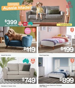 Fantastic Furniture specials in the Fantastic Furniture catalogue ( Expired)
