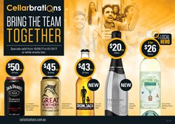 Offers from Cellarbrations in the Perth WA catalogue