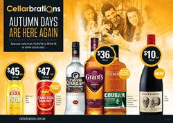 Offers from Cellarbrations in the Melbourne VIC catalogue