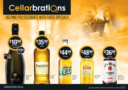 Grocery offers in the Cellarbrations catalogue in Dorrigo NSW