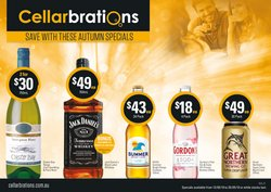 Offers from Cellarbrations in the Brisbane QLD catalogue
