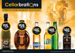 Cellarbrations specials in the Cellarbrations catalogue ( Expired)