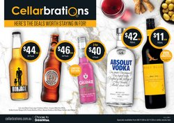 Cellarbrations catalogue ( Expired )
