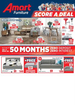 Offers from Amart Furniture in the Gold Coast QLD catalogue