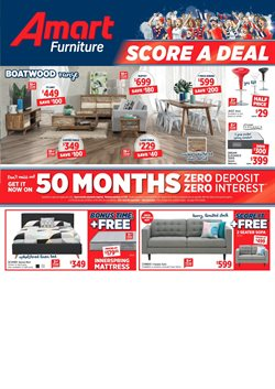 Offers from Amart Furniture in the Central Coast NSW catalogue