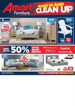 Offers from Amart Furniture in the Newcastle NSW catalogue
