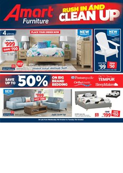 Offers from Amart Furniture in the Rockingham WA catalogue