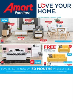 Offers from Amart Furniture in the Canberra ACT catalogue