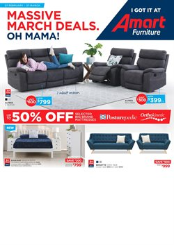 Offers from Amart Furniture in the Melbourne VIC catalogue