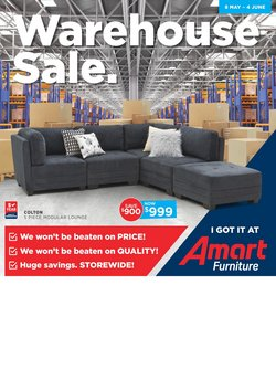 Offers from Amart Furniture in the Adelaide SA catalogue