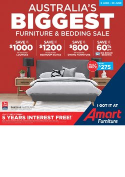Homeware & Furniture offers in the Amart Furniture catalogue in Adelaide SA
