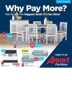 Homeware & Furniture offers in the Amart Furniture catalogue in Penrith NSW