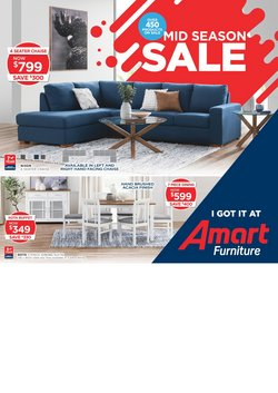 Amart Furniture catalogue in Adelaide SA ( 22 days left )
