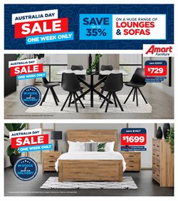 Homeware & Furniture offers in the Amart Furniture catalogue ( Expires today )